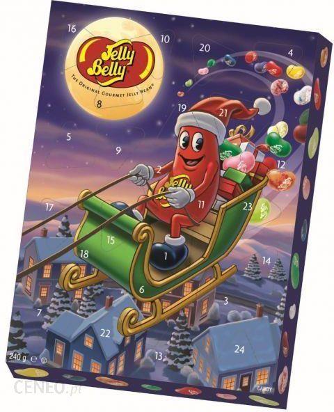 Jelly Belly Kalendarz Adwentowy 240g Ceny I Opinie Ceneo Pl