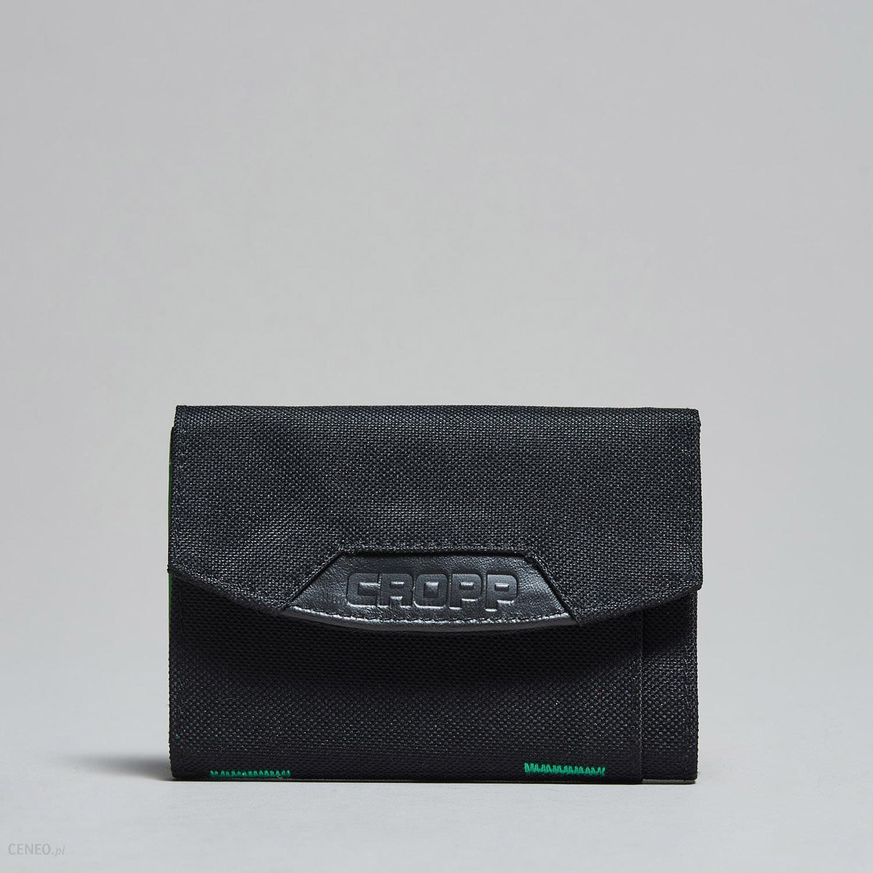 9777c258753af Cropp - Portfel materiałowy - Czarny - męska - Ceny i opinie - Ceneo.pl