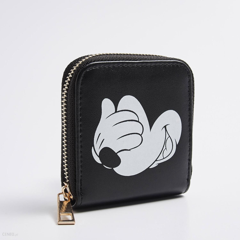 010850f0e2229 Sinsay - Kompaktowy portfel mickey mouse - Czarny - damska - Ceny i ...