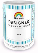 Tikkurila Beckers Emulsja Designer Kitchen Bathroom White 5l