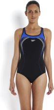 Speedo Kostium Kąpielowy Fit Kickback Black Dark Purple