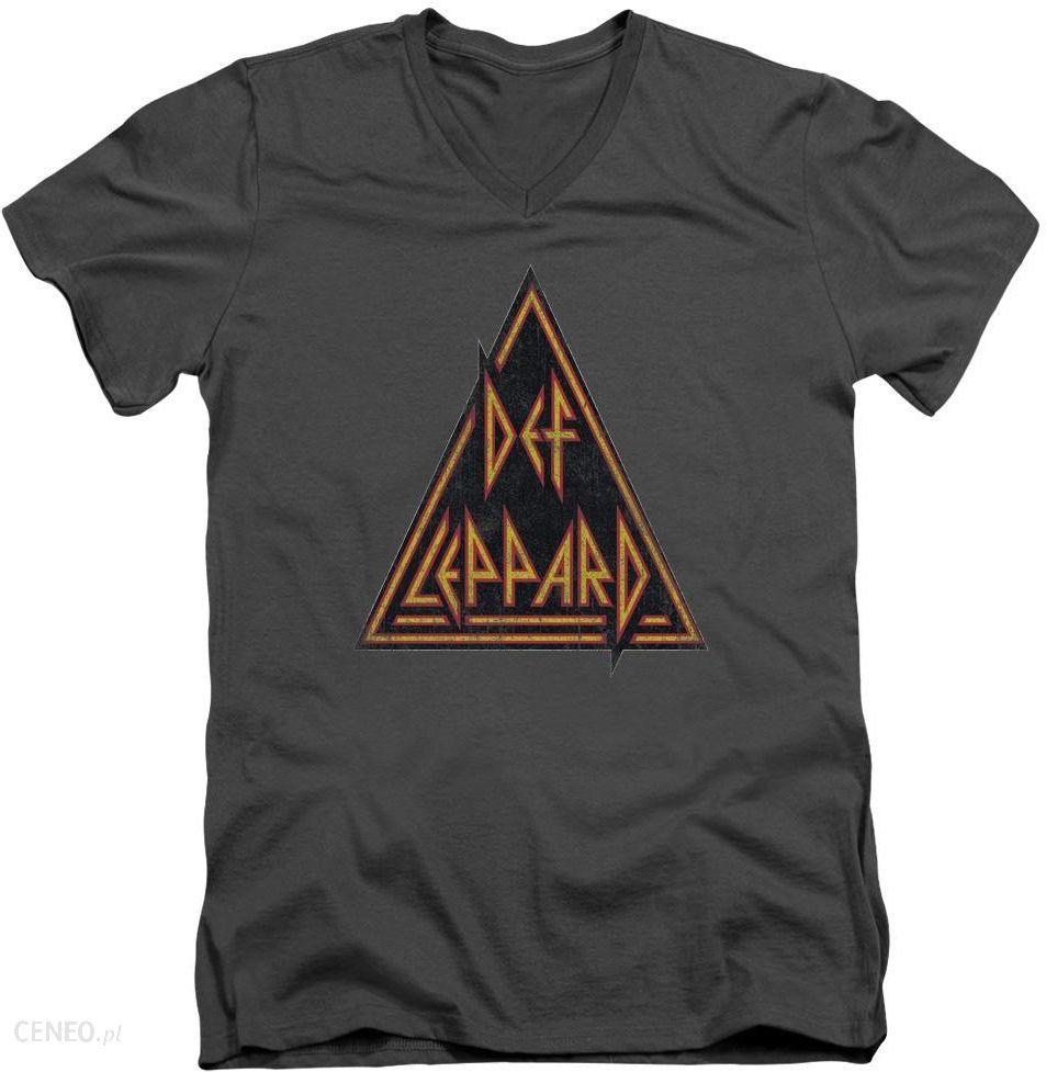 Def leppard custom distressed logo men 39 s 30 1 100 cotton for Custom t shirts distressed