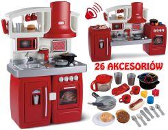 Little Tikes Kuchnia Rozkładana 2 W 1 Elektroniczna 26 Akcesoriów 626012