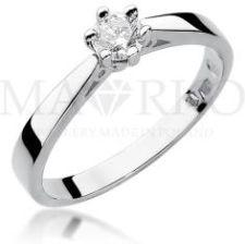 0d8fee1298f07e MARKO Zaręczynowy pierścionek białe żółte złoto brylant 0,30ct  (W229B585B030342)