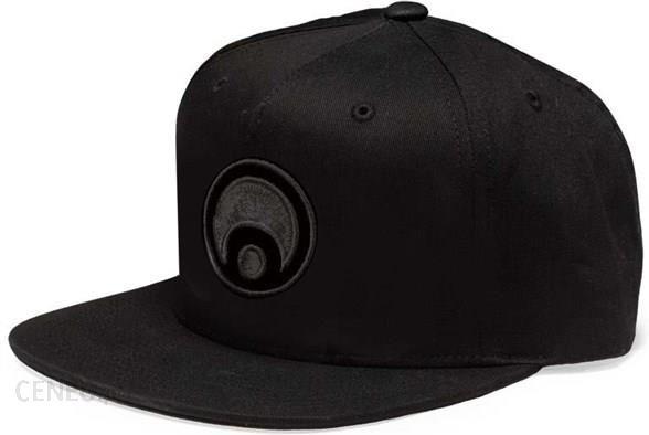 czapka z daszkiem OSIRIS - Mens Snapback Hat Corporate Black Black (A140)  rozmiar 3d955f5d62b9