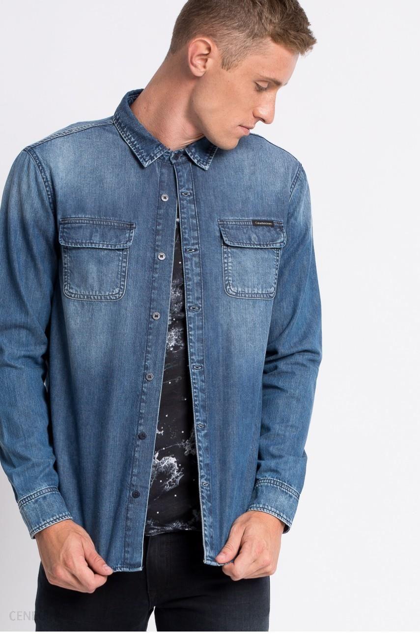 1464475c0 Koszula - Calvin Klein Jeans - Koszula Classic - Ceny i opinie ...