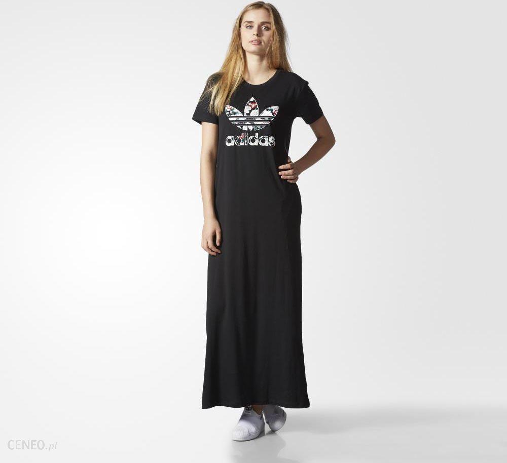 Sukienka adidas originals equipment dress bp5207 czarnyszary