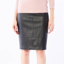 98d2915e91d2 Mohito - Spódnica ze skóry ekologicznej - Czarny - damska - Ceny i ...