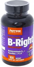 Jarrow B-Right Witaminy B Cholina Inozytol 100 kaps.