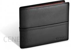 328162e88ff3d VALENTINI portfel męski skóra naturalna model 154-267 kolekcja Black    Ferrari Red - zdjęcie