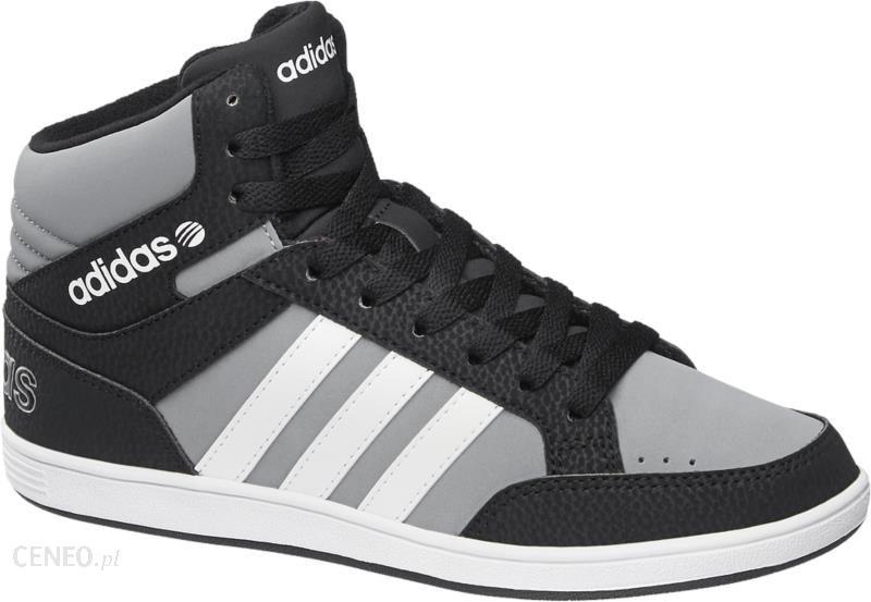 huge discount 472d9 58a55 trampki damskie Adidas Hoops Mid K - zdjęcie 1
