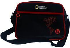 dcc712812c4af St.Majewski Torba Na Ramię Z Przegrodą Na Laptopa National Geographic  Compass Red