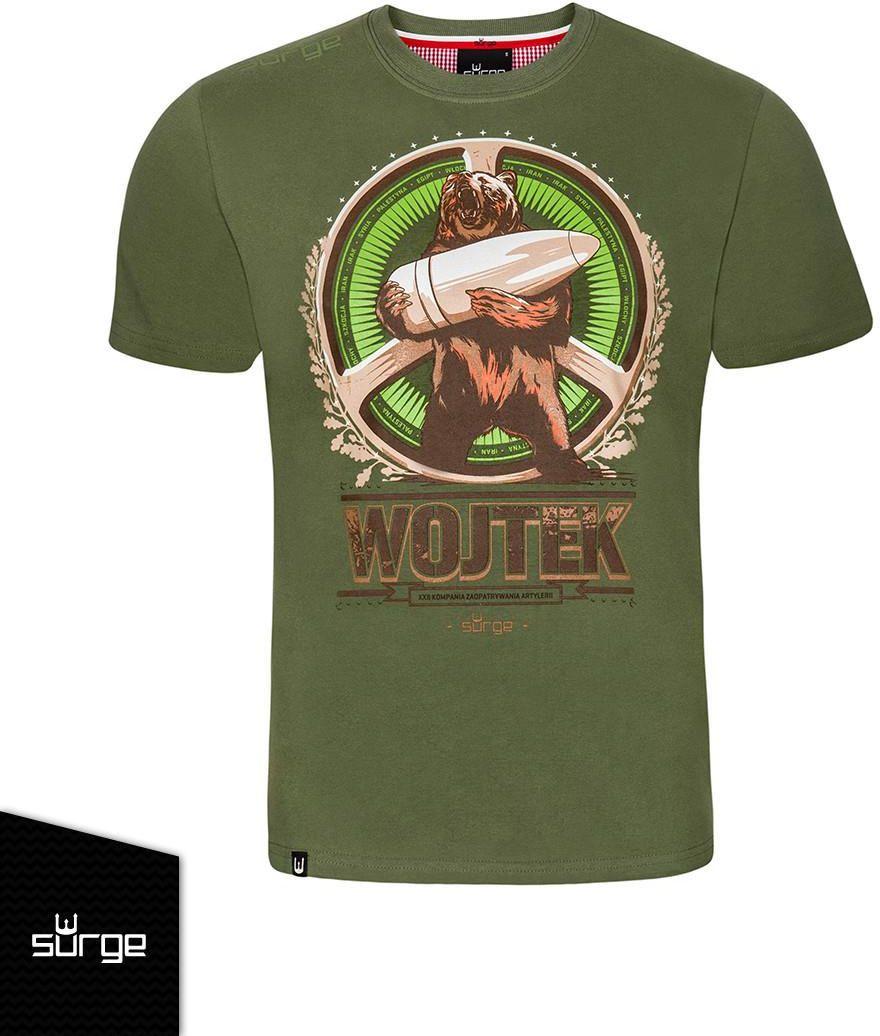 7e154dfa1a2aa6 Koszulka patriotyczna Miś Wojtek (KHAKI) 375 - Ceny i opinie - Ceneo.pl