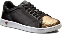 f8f884bf70792 Sneakersy GUESS - Super FLSPR1 LEM12 BLACK - Ceny i opinie - Ceneo.pl