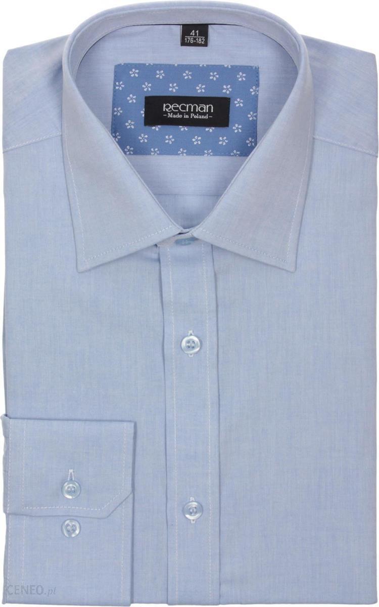 c148e14b3 koszula verson 1808 długi rękaw custom fit niebieski 164/170 43 - zdjęcie 1