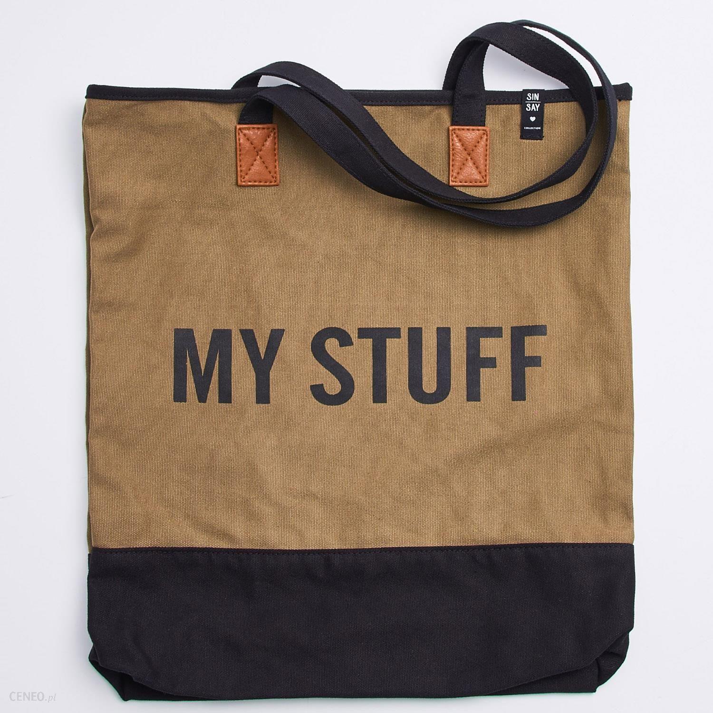 b843881cf4186 Sinsay - Materiałowa torba na ramię - Zielony - damska - Ceny i ...