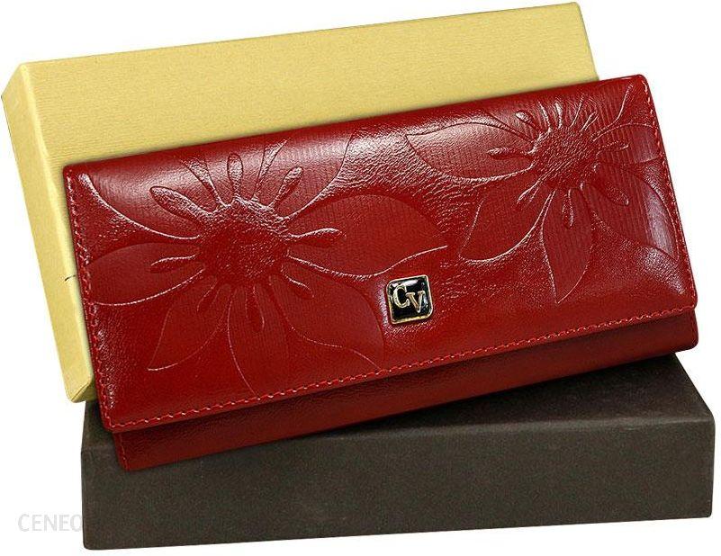 5330f897b0a45 Prezent portfel damski Cavaldi kwiaty czerwony - Ceny i opinie ...
