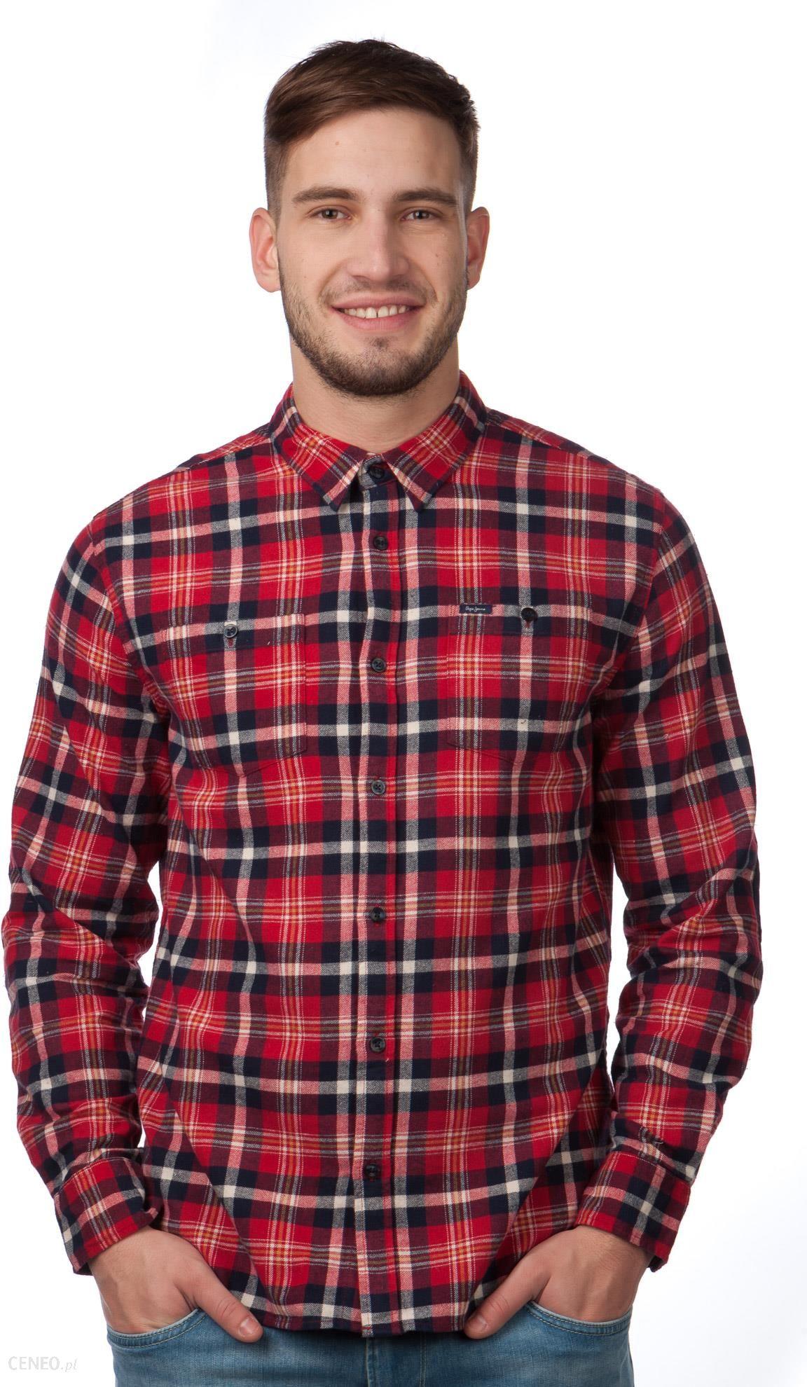 702899e2fb01e4 Pepe Jeans koszula męska Yank XXL czerwony, DOSTAWA GRATIS, BEZPŁATNY  ODBIÓR: WARSZAWA,