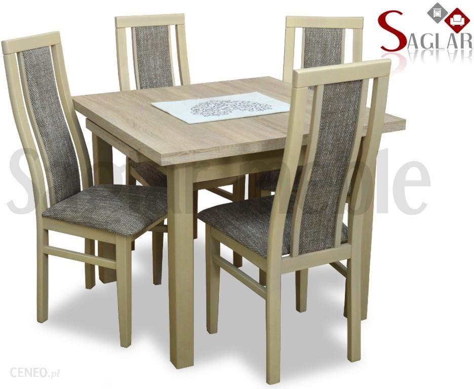 Saglar Aturri Ii 4 Krzesła Stół 90x90 140 Opinie I Atrakcyjne