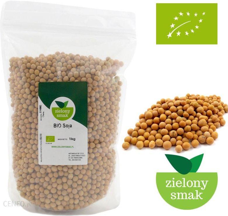 Nowość Zielony Smak Bio Soja Ekologiczna Bez Gmo 1Kg - Ceny i opinie MI88