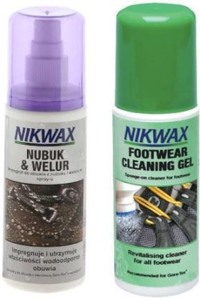 NIKWAX NUBUCK I WELUR/FOOTWEAR CLEANING GEL 125 ml