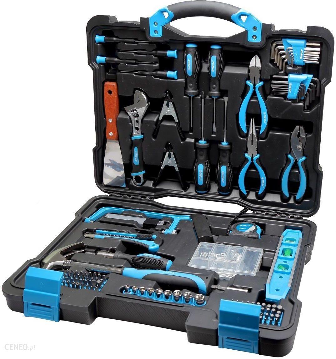 aa33dbbeb05621 Zestaw narzędziowy Mega Zestaw narzędzi 144 elementy 58144 - Opinie ...