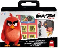 MULTIPRINT Pieczątki w walizce Angry Birds