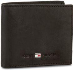 9c8740a38397b Mały Portfel Męski TOMMY HILFIGER - Johnson Mini Cc Wallet AM0AM00663 002  eobuwie