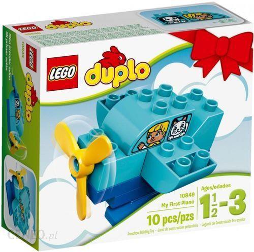 Klocki Lego Duplo Mój Pierwszy Samolot 10849 Ceny I Opinie Ceneopl