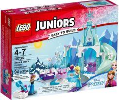 Klocki Lego Juniors Plac Zabaw Anny I Elsy Z Krainy Lodu 10736