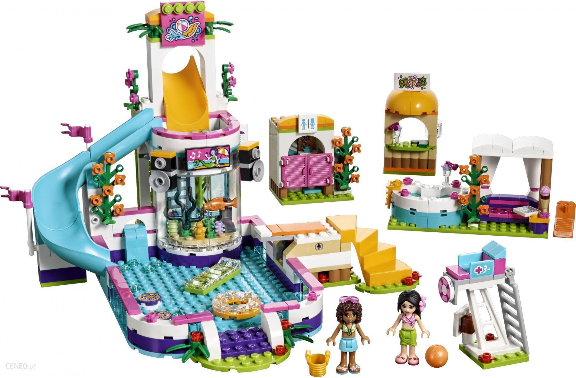 Klocki Lego Friends Letni Basen Heartlake 41313 Ceny I Opinie