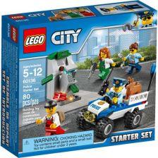 Klocki Lego City Policja Zestaw Startowy 60136 Ceny I Opinie