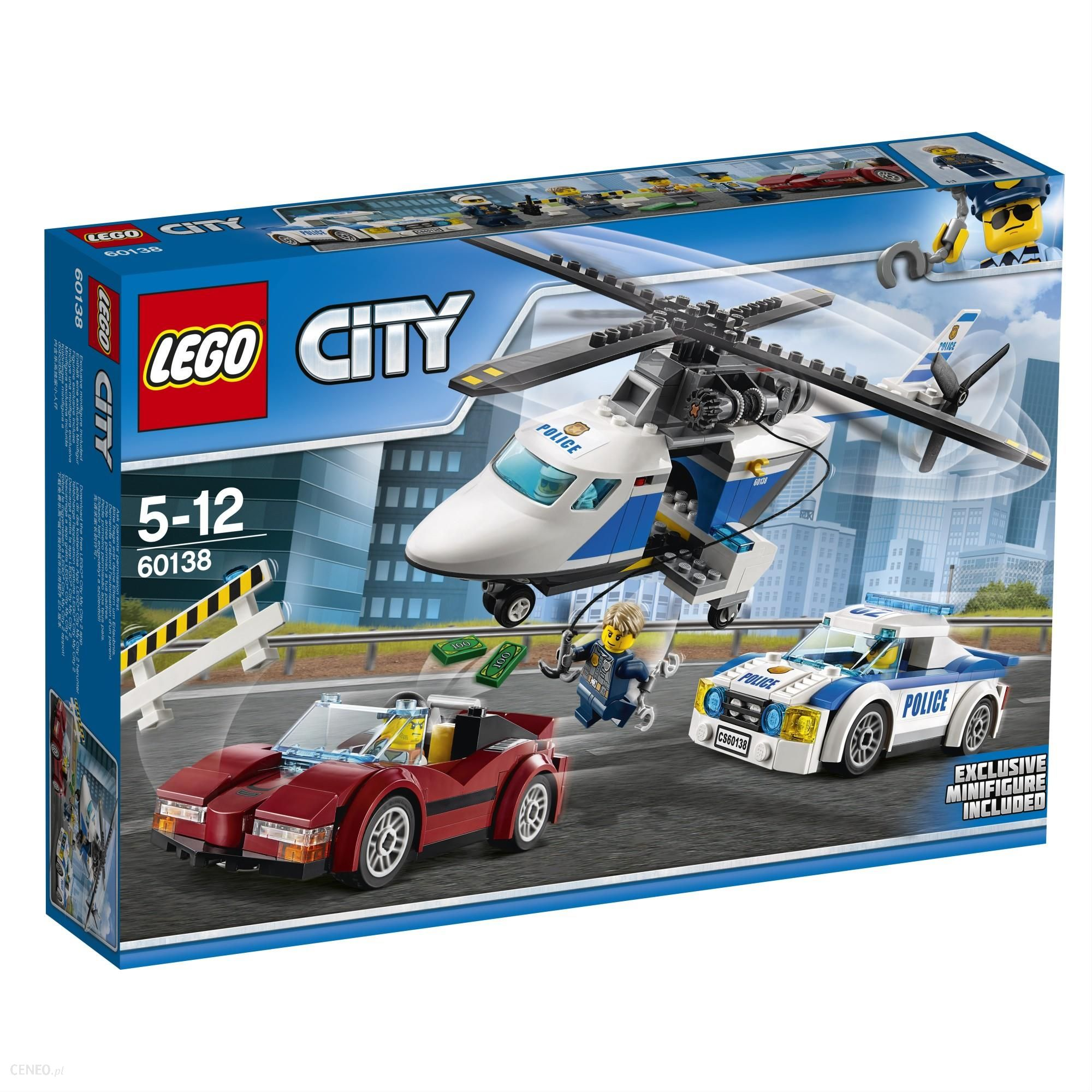 Klocki Lego City Szybki Pościg 60138 Ceny I Opinie Ceneopl