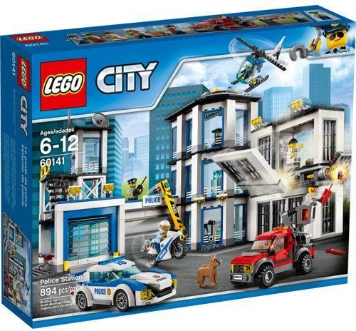 Klocki Lego City Posterunek Policji 60141 Kraków Sklepy Ceny I