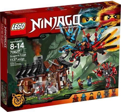 Klocki Lego Ninjago Kuźnia Smoka 70627 Ceny I Opinie Ceneopl