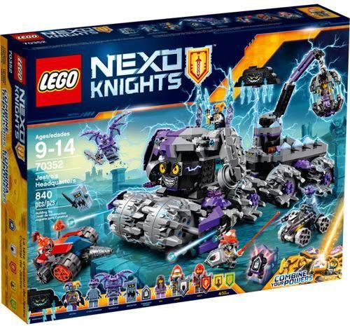 Klocki Lego Nexo Knights Jestros Headquarters 70352 Ceny I Opinie
