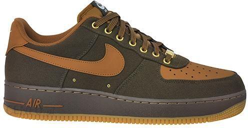 Buty Męskie Nike Air Force 1 Low Wheat Black BQ4326 700