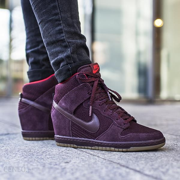 769627e1cf3 ... coupon for buty nike wmns dunk sky hi essential deep burgundy 644877  601 876ee 42321 ...