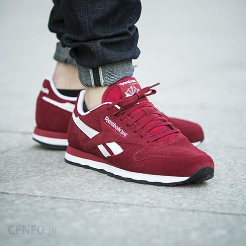 a9ff31e3b Buty Reebok Classic Leather Suede Power Red (M46010) - Ceny i opinie ...
