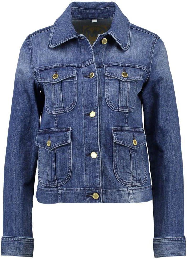 5b1b95bde07b7 MICHAEL Michael Kors Kurtka jeansowa vintage blue wash - Ceny i ...