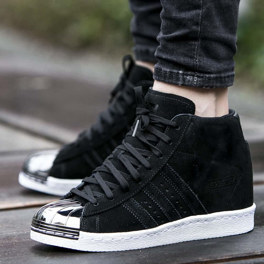 Buty adidas Superstar Up Metal Toe Core Black (S79383) Ceny i opinie Ceneo.pl
