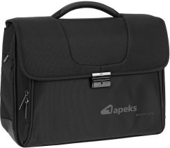 2a41e939c431f Torba na laptopa Teczka biznesowa na laptopa 15 i tablet Roncato ...
