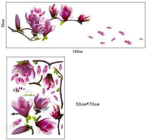 Naklejki Naklejka Sciane Scienne Kwiaty Magnolia Opinie I
