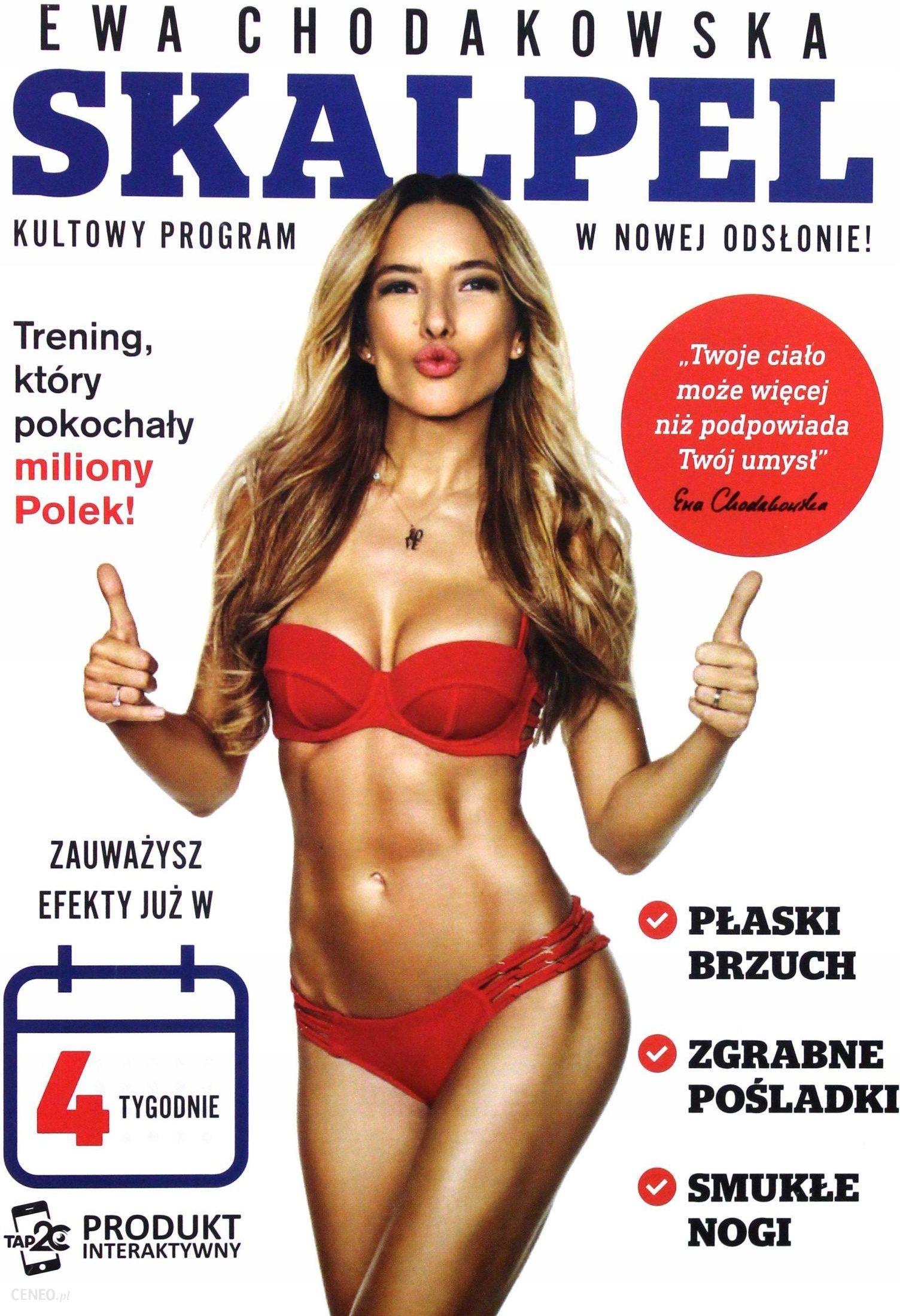 Film Dvd Ewa Chodakowska Skalpel Dvd Ceny I Opinie Ceneo Pl