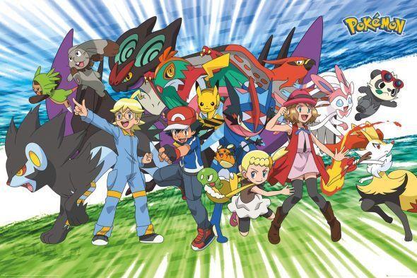 0568cef1c2a89 Pokemon, Pokemony plakat - Opinie i atrakcyjne ceny na Ceneo.pl