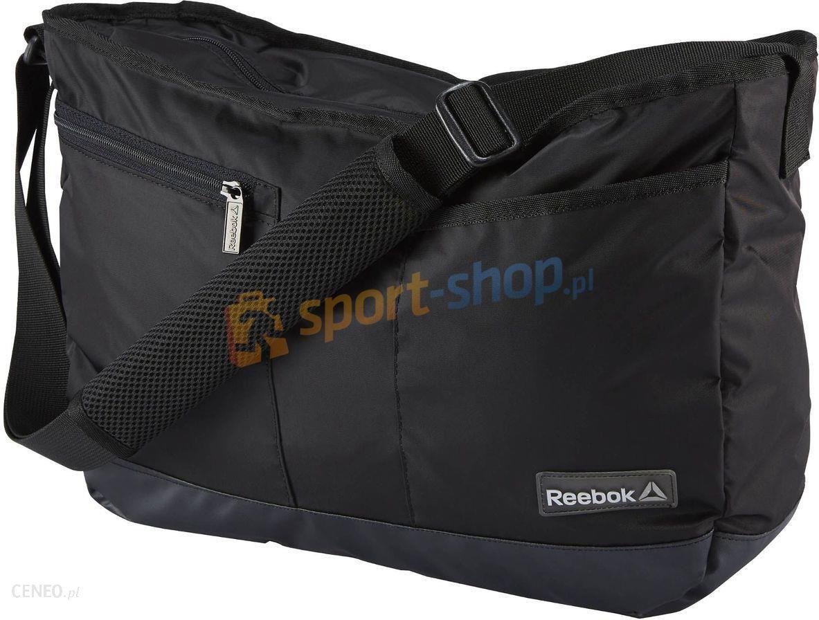 b7144d94b1d27 Torba listonoszka Shoulder Bag Reebok (czarna) - Ceny i opinie ...