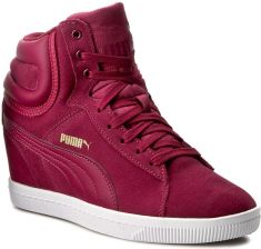 Sneakersy PUMA Puma Vikky Wedge 357246 09 Red PlumRed Plum