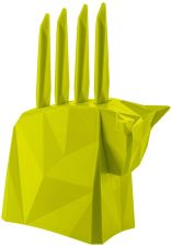 Pablo Knife Block With 4 Knives, Mustard - zdjęcie 1