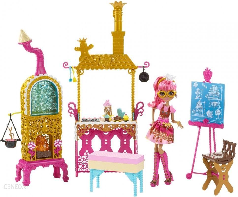 Mattel Ever After High Słodka Kuchnia Ginger Breadhouse Chx83 Ceny I Opinie Ceneopl