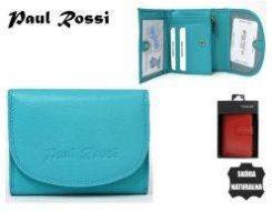 97b9f2860e122 Portfel damski skórzany Paul Rossi - Ceny i opinie - Ceneo.pl